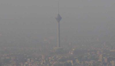 هوای شهر ری از تهران آلودهتر است