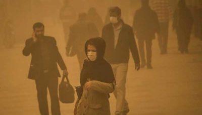 ورود سالی ۲۰ هزار تن ذرات معلق به ریه تهرانیها