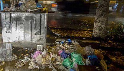 پسماندهای عفونی همچنان وبال گردن شهرداری اراک