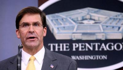 پنتاگون: خروج نیروهای آمریکایی از افغانستان به توافق با طالبان وابسته نیست