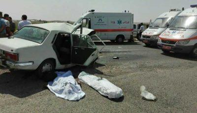 کاهش آمار تلفات حوادث جاده ای با کاهش نقاط حادثهخیز تناسب ندارد