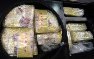کشف محموله بزرگ مواد مخدر داخل بلندگوهای استریو