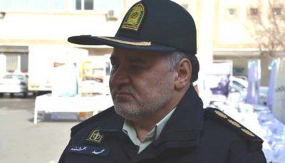 کشف محموله سنگین حشیش در تهران