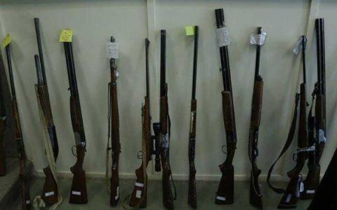 کشف ۵۷ اسلحه شکاری در استان تهران از ابتدای آبان ماه