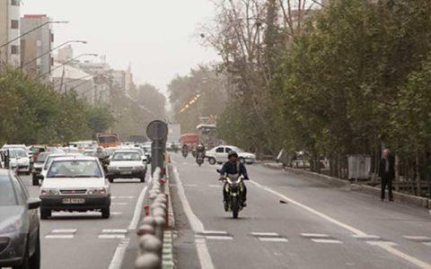 کیفیت نامطلوب هوای پایتخت در ۲۲ ایستگاه سنجش آلودگی