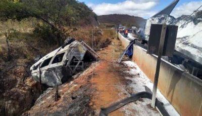 ۱۰۳ کشته و زخمی در حادثه واژگونی کامیون در نیجریه