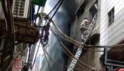 ۴۳ کشته در حریق کارخانهای در هند