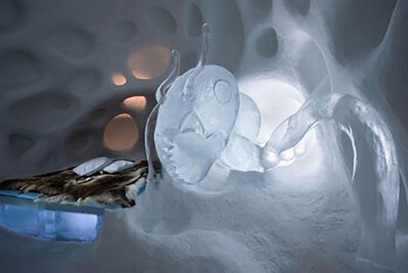 نخستین هتل یخی جهان در روستای یوکاسژروی سوئد 30ساله شد