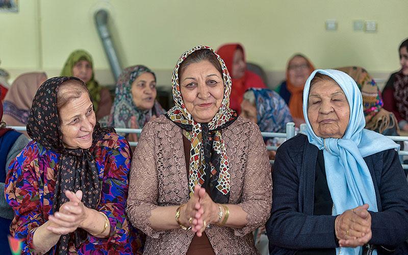 309 3 سالمندان, جشن یلدا