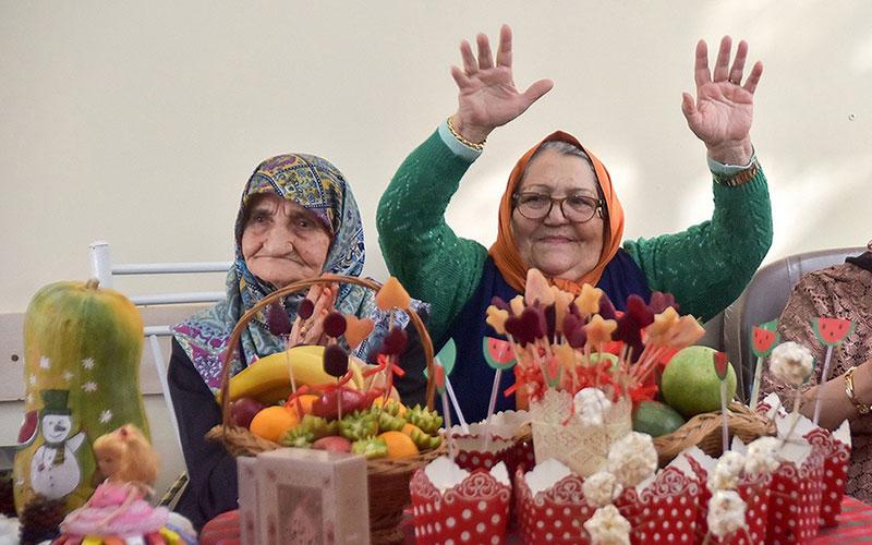 318 1 سالمندان, جشن یلدا