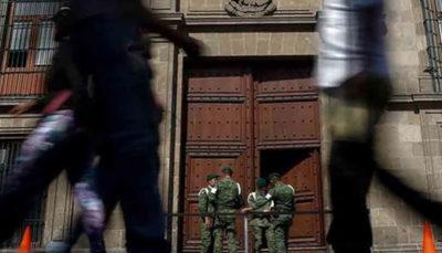 4 کشته در تیراندازی در نزدیکی کاخ ریاستجمهوری مکزیک