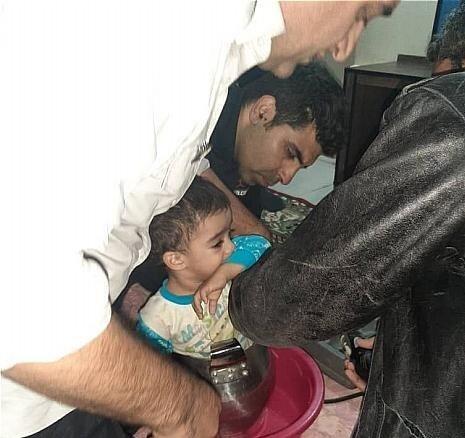 نجات کودک گرفتار در زودپز توسط آتشنشانی