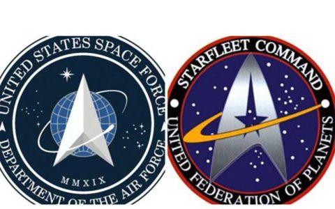 «جنگ ستارگان»؛ آرم جدید نیروی فضایی آمریکا