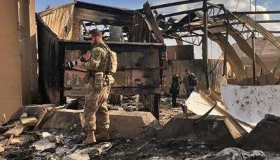 ۱۱ نظامی بر اثر حمله موشکی سپاه به عین الاسد زخمی شدند آمریکا: ۱۱ نظامی بر اثر حمله موشکی سپاه به عین الاسد زخمی شدند