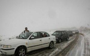 امدادرسانی به ۴۸۰ نفر در جاده های کوهستانی امدادرسانی, هلال احمر, جاده کوهستانیِ, برف و کولاک