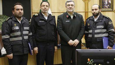 تحویل ۴۰۰ میلیارد ریال چکهای گمشده به صاحبش ناجا, سردار حسین اشتری, پلیس راهنمایی و رانندگی