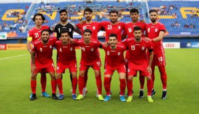 ترکیب تیم ملی امید مقابل چین مشخص شد