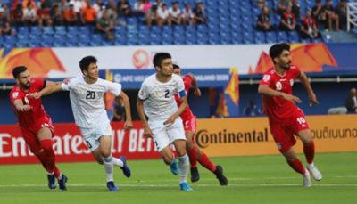 تساوی تیم فوتبال امید ایران برابر ازبکستان