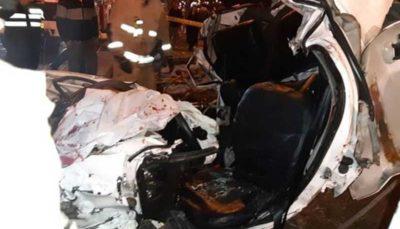 تصادف در جاده های کردستان۴ کشته و ۲ مجروح برجای گذاشت