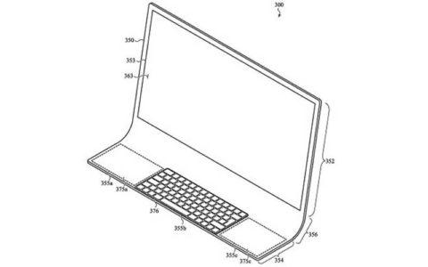 تولید رایانه مک با شیشه خمیده یکپارچه