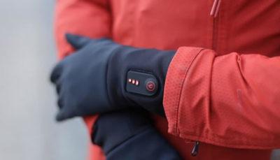 دستکش مجهز به باطری خود به خود گرم می شود