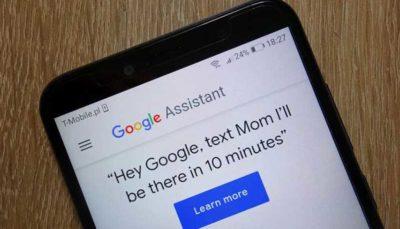 دستیار صوتی گوگل نیم میلیارد کاربر دارد
