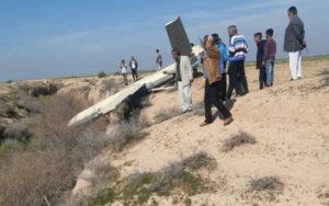 سقوط یک شیء پرنده در اطراف ملاثانی خوزستان ملاثانی, پهپاد, اهواز