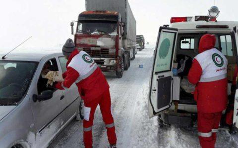 و آبگرفتگی در ۷ استان امدادرسانی به ۱۴۱۳ نفر