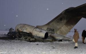 طالبان مانع دسترسی آمریکا به لاشه هواپیمای شد