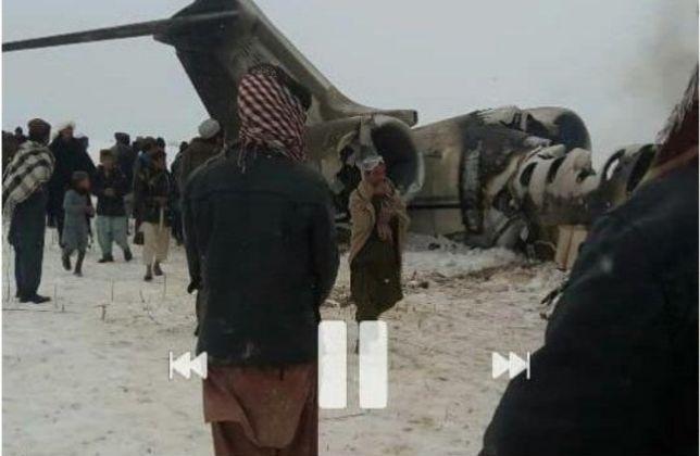 طالبان مسئولیت حمله را به عهده گرفت1 سقوط هواپیما در افغانستان