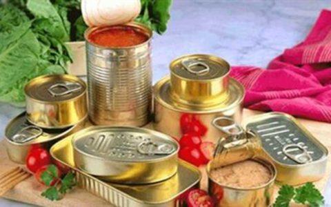 غذاهای کنسروی منشاء ابتلا به بوتولیسم