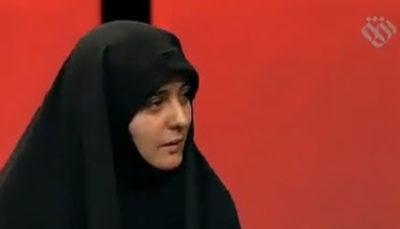 فقط مانده بودمجری تلویزیون برای ملت ایران تعیین تکلیف کند، از ایران بروید! (فیلم)