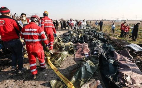 نمونهگیری از بقایای اجساد سقوط هواپیما به پایان رسید