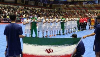 همگروهی ایران با تاجیکستان و کویت در تورنمنت تایلند