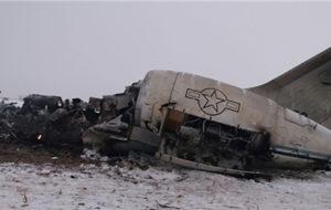 واشنگتن: اجساد نظامیان بازیابی و لاشه هواپیما ساقط شده در افغانستان منهدم شد