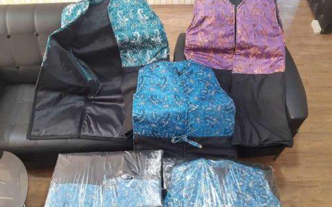 کشف لباسهای آغشته به مواد مخدر در گمرک بازرگان