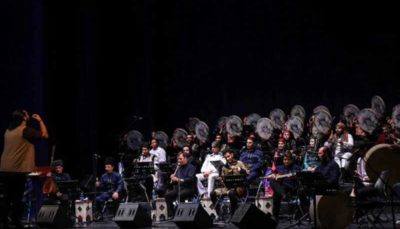 کنسرت موسیقی اقوام با ۶۰ نوازنده در تالار وحدت کنسرت موسیقی, کنسرت ارکستر هیژان, تالار وحدت