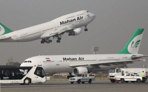 «ماهان» بعد از دستور توقف پروازها، ۹ پرواز به چین انجام داد