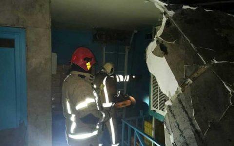 آتشسوزی در یک مرکز درمانی در خیابان شریعتی