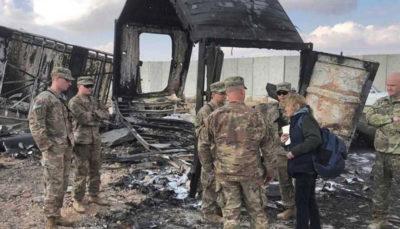 آمریکا بیش از ۱۰۰ نظامی ما در حمله موشکی ایران آسیب مغزی دیدند نظامیان آمریکایی, آسیب مغزی, حمله موشکی ایران
