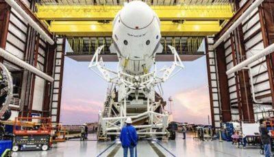 اسپیس ایکس ۴ توریست به فضا می برد ایستگاه فضایی, اسپیس ایکس, فضا