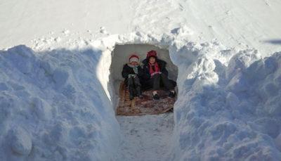 سنگین برف در خلخال
