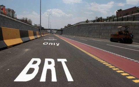 برخورد اتوبوس RBT با عابران پیاده ۳ مصدوم برجا گذاشت