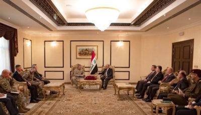 برهم صالح به ژنرال آمریکایی: عراق صحنه درگیری بینالمللی نمیشود