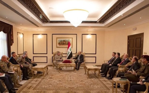 برهم صالح به ژنرال آمریکایی عراق صحنه درگیری بینالمللی نمیشود پارلمان عراق, ارتش آمریکا, برهم صالح