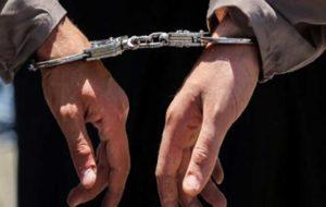 دستگیری دزدان حین سرقت گاردریل های کنار اتوبان