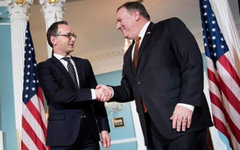 رایزنی ضد ایرانی وزرای خارجه آمریکا و آلمان در مونیخ