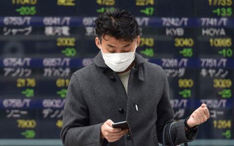 ریزش شاخص سهام در آسیا با شیوع گسترده کرونا