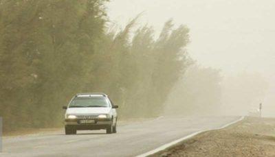 سرعت وزش باد در زاهدان به ۷۶ کیلومتر بر ساعت رسید