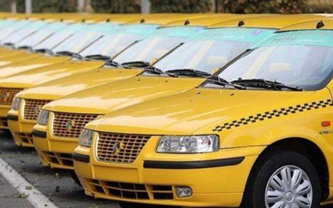 سهمیه سوخت تاکسی های بدون پروانه حذف می شود
